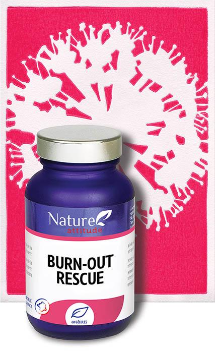 Burn-Out rescue-Complément alimentaire-Nature Attitude