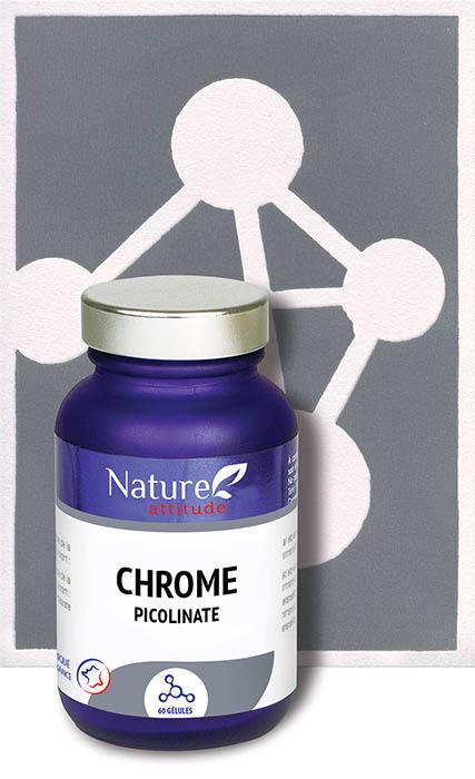 Chrome-Complément alimentaire-Nature Attitude
