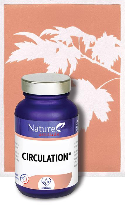 Circulation-Complément alimentaire-Nature Attitude