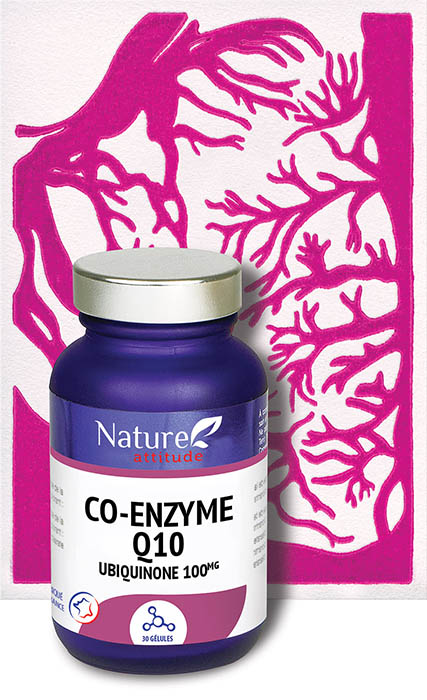 Co-enzyme Q10-Complément alimentaire-Nature Attitude