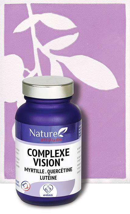 Complexe vision-Complément alimentaire-Nature Attitude