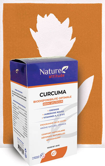 Curcuma-Complément alimentaire-Nature Attitude