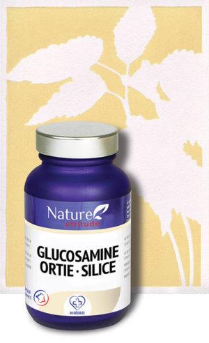 Glucosamine Ortie et Silice-Complément alimentaire-Nature Attitude