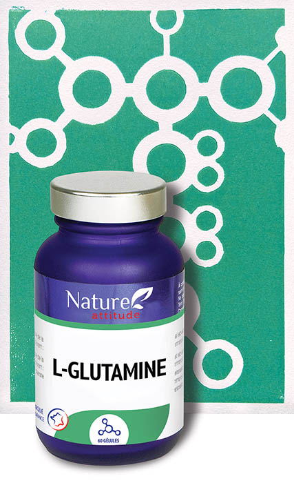 L-glutamine-Complément alimentaire-Nature Attitude