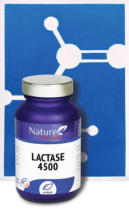 Lactase 4500-Complément alimentaire-Nature Attitude