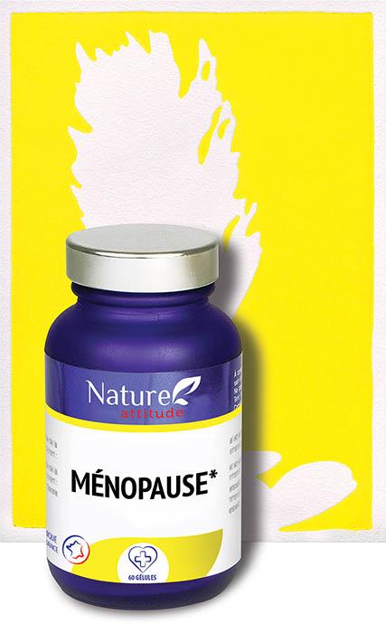 Ménopause-Complément alimentaire-Nature Attitude
