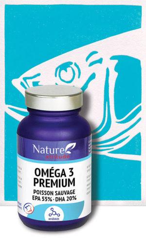 Oméga 3 premium-Complément alimentaire-Nature Attitude