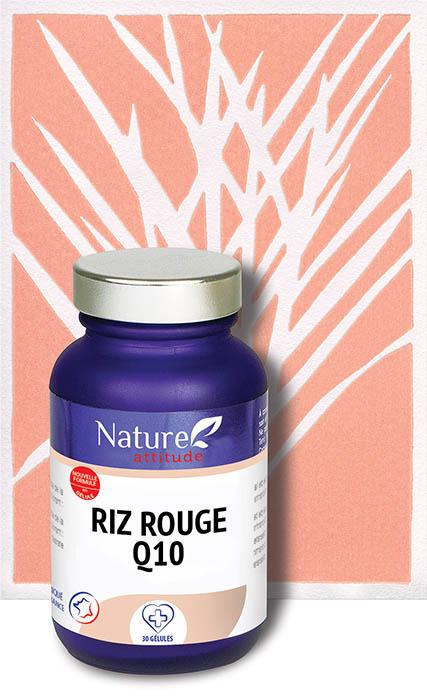Riz rouge Q10-Complément alimentaire-Nature Attitude