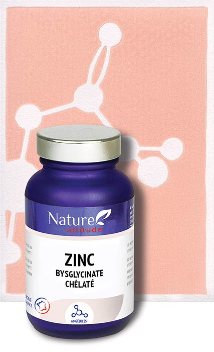 Zinc-Complément alimentaire-Nature Attitude