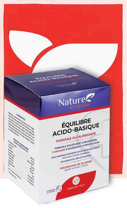 Équilibre acido-basique-Complément alimentaire-Nature Attitude