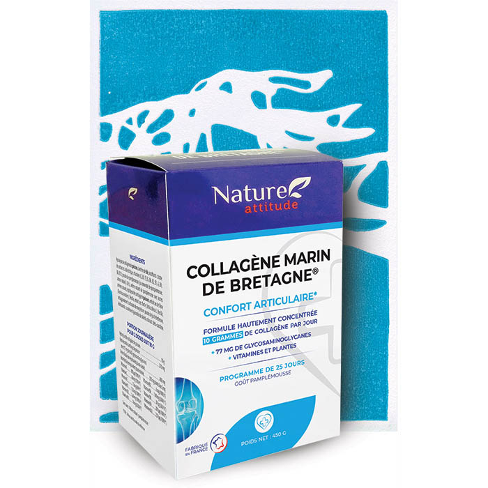Collagène marin de Bretagne-Complément alimentaire-Nature Attitude