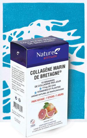 Collagène marin de Bretagne en sticks-Complément alimentaire-Nature Attitude