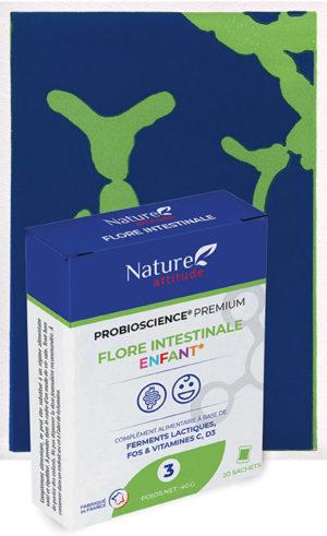 Probioscience Flore intestinale enfant-Complément alimentaire-Nature Attitude